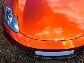 Sport autoscheinwerfer — Stockfoto