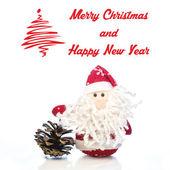Christmas greeting card — Stock Photo