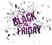 Black Friday background — Stock Vector
