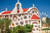 Greek church on Lassithi plateau in Crete — Stock Photo