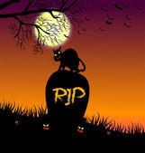 Fröhliches halloween — Stockvektor
