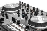 DJ audio mixing device — Stock Photo