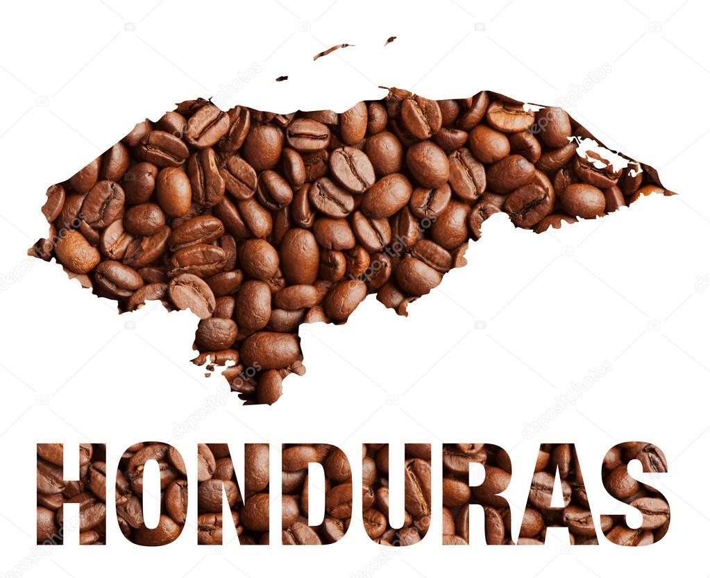 Honduras mapa y palabra caf 233 foto de stock 169 drummatra 66540145