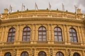 Rudolfinum Concert Hall in Prague — Stock Photo