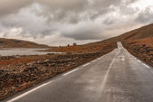 The mountain pass over Sognefjellet, Norway — Stock Photo