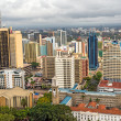 Постер, плакат: Central business district of Nairobi Kenya