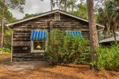 Beach Cottage in the Pinellas County Heritage Village, Largo, FL — Foto de Stock