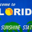 Welcome to Florida road sign — Stock Photo #70818133