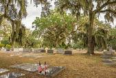 Jewish section of the Bonaventure Cemetery in Savannah, Georgia — Stock Photo