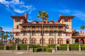 Historic Flagler College in St. Augustine, Florida — Stock Photo