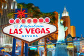 Добро пожаловать в Лас-Вегас — Стоковое фото