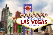 Fabulous Las Vegas Neon Sign — Photo
