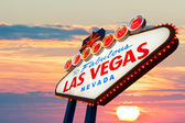 Las Vegas neon sign — Stock Photo