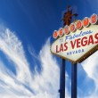 Welcome To Las Vegas neon sign — Stock Photo #53496243