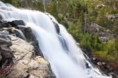 Waterfall at Emerald Bay — Stock Photo