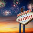 Welcome to Las Vegas Sign — Stock Photo #62724569