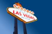 Famous Las Vegas Welcome Sign — Stock Photo