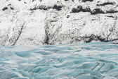 Majestic Glaciers texture — Stock Photo