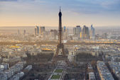 The Eiffel Tower in the morning — Stock Photo