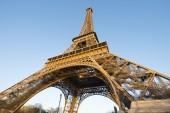 La famosa torre eiffel — Foto Stock