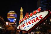 Welcome to Las Vegas Sign — Zdjęcie stockowe