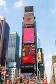 Time Square New York — Stock Photo