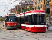 Toronto New Streetcars — Stok fotoğraf