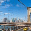 New York City Skyline from Brooklyn Bridge — Stock Photo #53465395