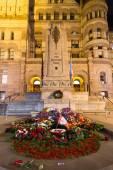 Toronto Old City Hall Cenotaph — Foto Stock