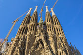 Part of the Sagrada Familia during the day — Stock Photo