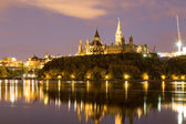 Ottawa Parliament Hill — Stock Photo