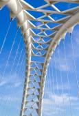 Arch on the Humber Bay bridge in Toronto  — Stock Photo