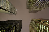 Skyscrapers in Downtown Toronto at Night — Stock Photo