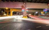 Traffic on an Underpass — Stock Photo