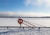 Lake Ontario in the Winter — Stock Photo