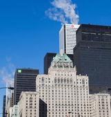 Royal York Hotel and Downtown Toronto — Stock Photo