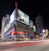 Yonge Street Toronto at Night — Stock Photo