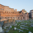 Ruins of Trajan's Market (Mercati di Traiano) in Rome during sun — Stock Photo #69116131