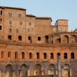 Ruins of Trajan's Market (Mercati di Traiano) in Rome during sun — Stock Photo #69119035