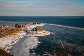 Scarborough Bluffs in the Winter — Stock Photo