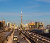 Toronto at Rush Hour — Stock Photo