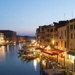 Venice Cityscape from Rialto Bridge — Stock Photo #69549653