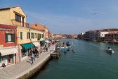 Streets in Murano — Stock Photo