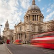 St Pauls Cathedral and Traffic — Stock Photo #70659583