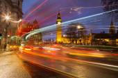 Big Ben and Traffic During Rush Hour — Stock Photo