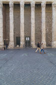 Temple of Hadrian in Rome — Stock Photo