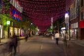 Saint Catherine Street Montreal — Stock Photo
