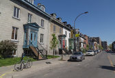 Streets in Montreal — Stock Photo