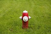 Fire Hydrant in Baddeck — Stock Photo