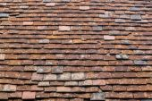 Old Tiles on a Roof Background — Stock Photo